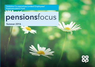 Pensions Focus Newsletter - Summer 2016