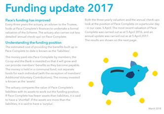 Pace 2017 Funding Update