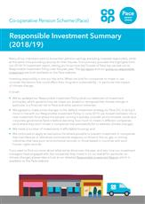 Responsible Investment Update